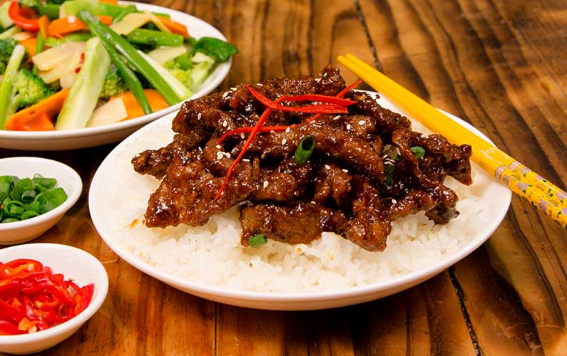 chinese crispy chilli beef - cooking at home is fun
