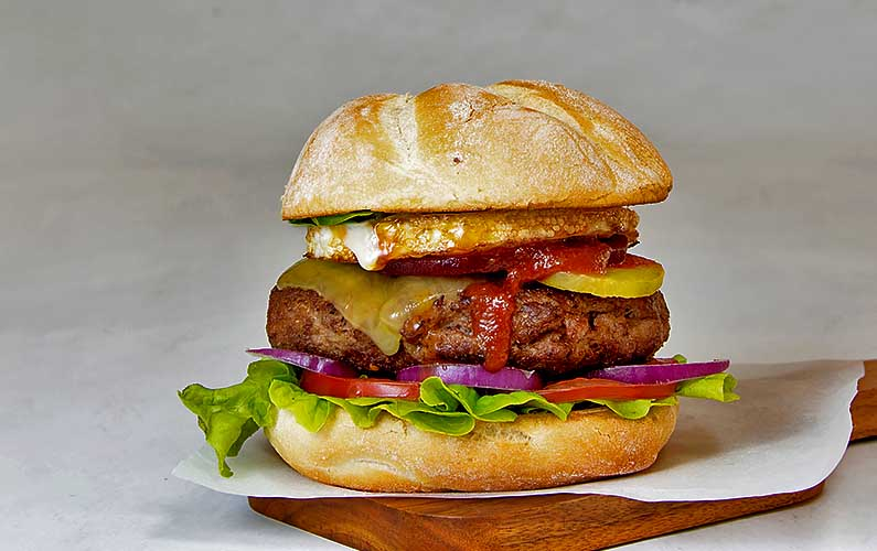 The Invincible Aussie Burger - cooking at home is fun and it's easier than you think!