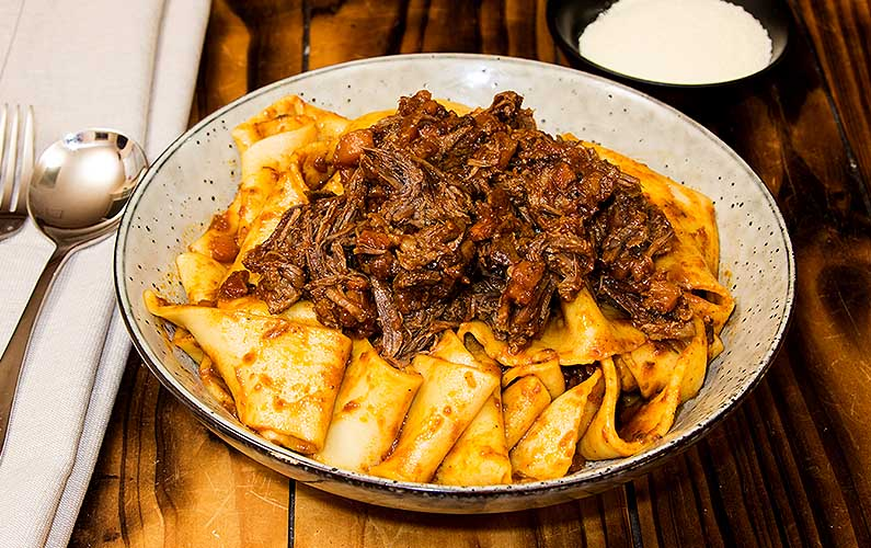Beef Cheek Ragu - cooking at home is fun
