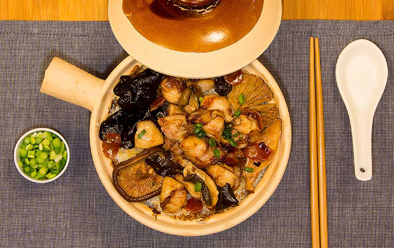 Chinese Claypot Chicken - cooking at home is fun