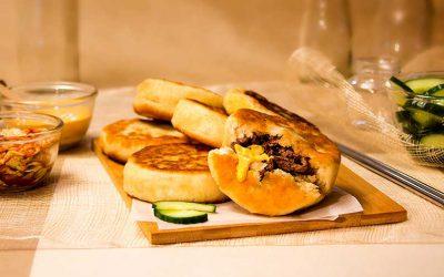 Korean Bulgolgi Pancakes