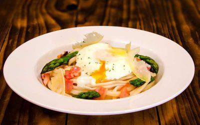 Poached Egg Linguini