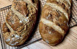 Artisan Rye Bread - cooking at home is fun