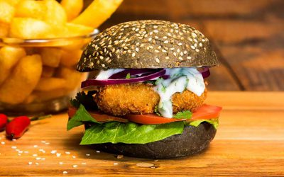 Super Light Fish Burger