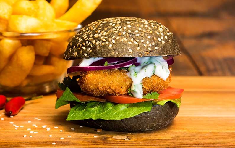 Super Light Fish Burger