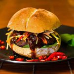 Thai Chilli Burger - cooking at home is fun