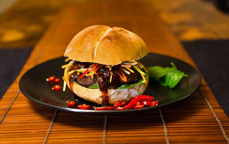 Thai Chilli Burger